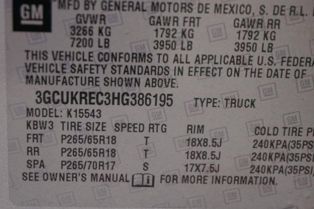 2017 Silverado 1500 Crew Cab 4x4 Pickup #133312 - photo 4