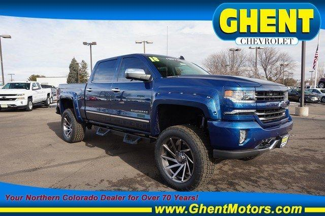 2018 Silverado 1500 Crew Cab 4x4, Pickup #133698 - photo 1