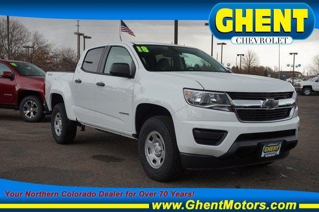 2018 Colorado Crew Cab 4x4, Pickup #133770 - photo 1