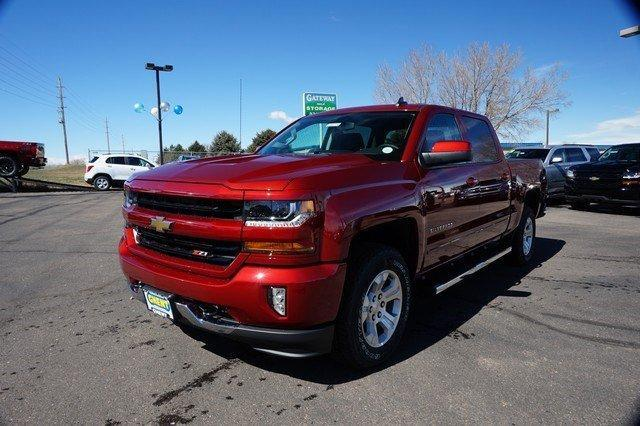 2018 Silverado 1500 Crew Cab 4x4, Pickup #133774 - photo 4