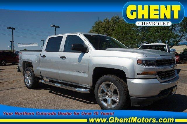 2018 Silverado 1500 Crew Cab 4x4,  Pickup #133947 - photo 1