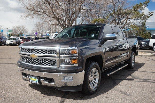 2015 Silverado 1500 Crew Cab 4x4,  Pickup #19266 - photo 4