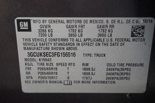 2015 Silverado 1500 Crew Cab 4x4,  Pickup #19266 - photo 21