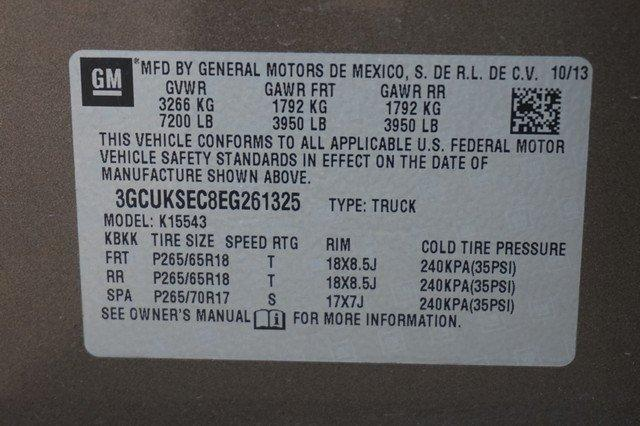 2014 Silverado 1500 Crew Cab 4x4,  Pickup #19270 - photo 19