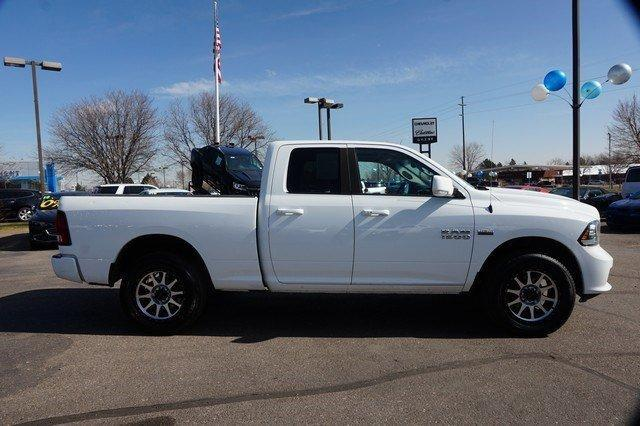 2014 Ram 1500 Quad Cab 4x4, Pickup #19301 - photo 3