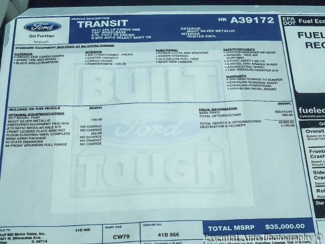 2017 Transit 250 Low Roof, Cargo Van #170679 - photo 10