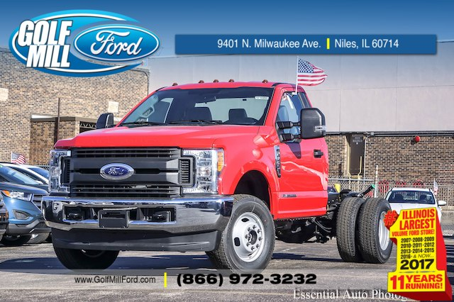 2017 F-350 Regular Cab DRW 4x4 Cab Chassis #171080 - photo 1