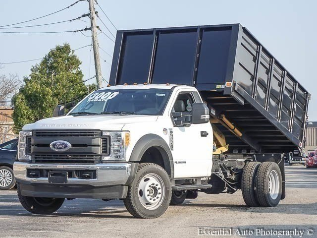 2017 F-550 Regular Cab DRW 4x4, Knapheide Landscaper Bodies Landscape Dump #171604 - photo 3