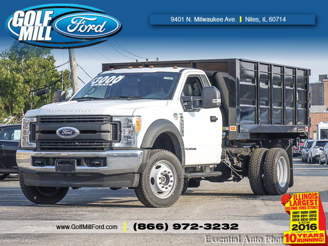 2017 F-550 Regular Cab DRW 4x4, Knapheide Landscaper Bodies Landscape Dump #171604 - photo 1
