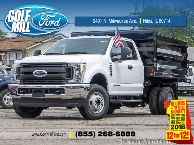 2017 F-350 Super Cab DRW 4x4, Rugby Uni-Body Landscaper Landscape Dump #171708 - photo 1