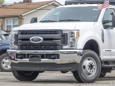 2017 F-350 Super Cab DRW 4x4,  Rugby Uni-Body Landscape Dump #171708 - photo 3