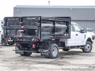 2017 F-350 Super Cab DRW 4x4, Rugby Uni-Body Landscaper Landscape Dump #171708 - photo 10