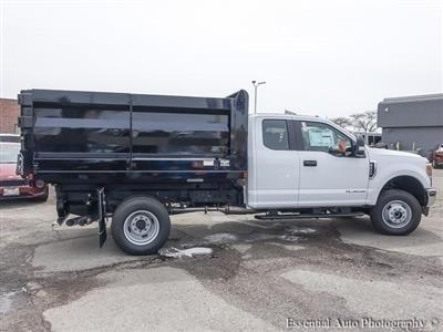 2017 F-350 Super Cab DRW 4x4,  Rugby Uni-Body Landscape Dump #171708 - photo 11