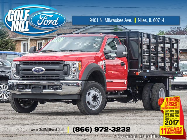 2017 F-450 Regular Cab DRW, Auto Truck Group Stake Bed #171711 - photo 1