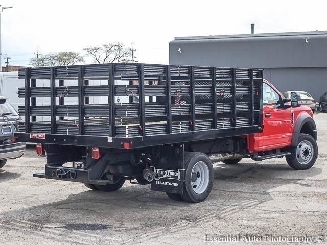 2017 F-450 Regular Cab DRW 4x2,  Auto Truck Group Stake Bed #171711 - photo 2