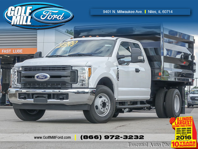 2017 F-350 Super Cab DRW, Rugby Uni-Body Landscaper Landscape Dump #172449 - photo 1