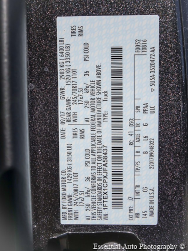 2018 F-150 Super Cab Pickup #180034 - photo 23
