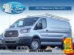 2018 Transit 250 Low Roof 4x2,  Weather Guard Upfitted Cargo Van #180134 - photo 1
