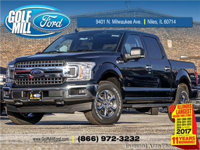 2018 F-150 Crew Cab 4x4, Pickup #180227 - photo 1