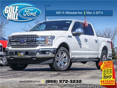 2018 F-150 SuperCrew Cab 4x4, Pickup #180315 - photo 1