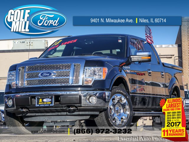 2012 F-150 Super Cab 4x4, Pickup #180330A - photo 1