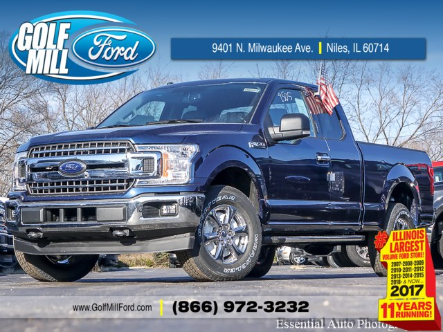 2018 F-150 Super Cab 4x4, Pickup #180414 - photo 1