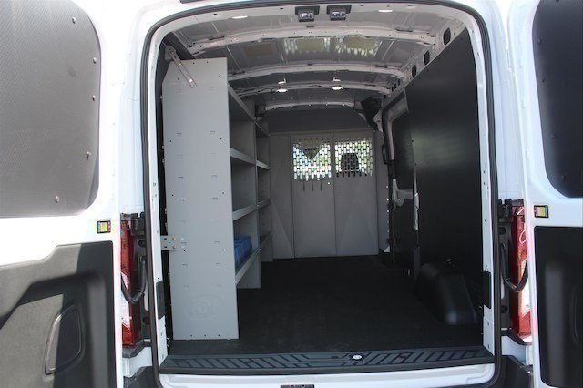 2018 Transit 250 Med Roof 4x2,  Weather Guard Upfitted Cargo Van #182479 - photo 9