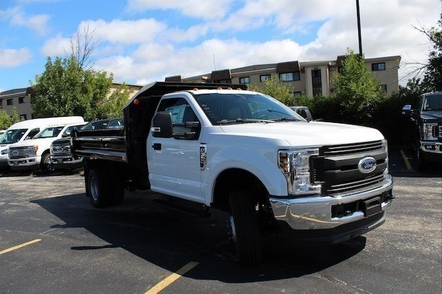 2018 F-350 Regular Cab DRW 4x4,  Monroe Dump Body #182676 - photo 10
