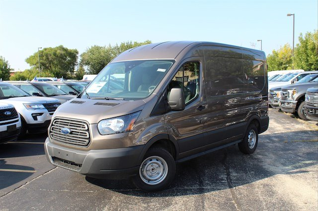 2018 Transit 150 Med Roof 4x2,  Empty Cargo Van #182716 - photo 3