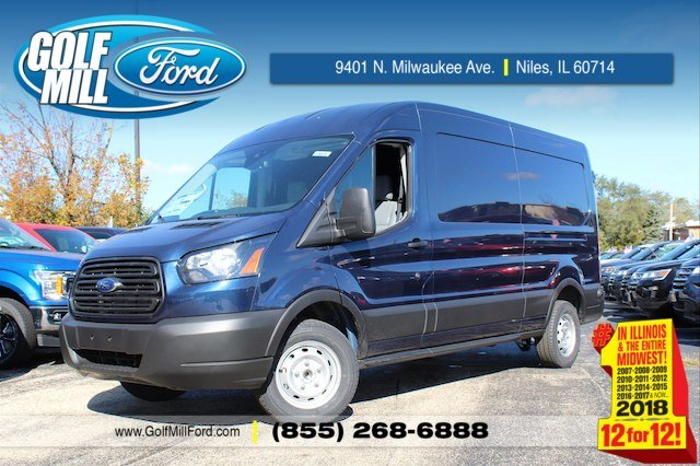 2019 Transit 150 Med Roof 4x2,  Weather Guard General Service Upfitted Cargo Van #190087 - photo 1