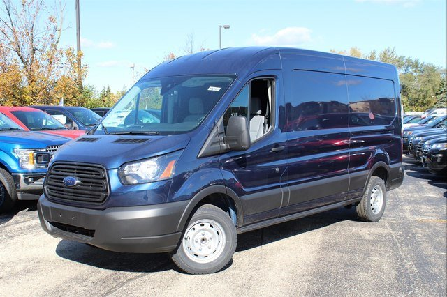 2019 Transit 150 Med Roof 4x2,  Weather Guard General Service Upfitted Cargo Van #190087 - photo 4