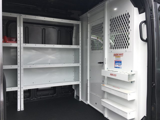 2019 Transit 150 Med Roof 4x2,  Weather Guard General Service Upfitted Cargo Van #190087 - photo 5