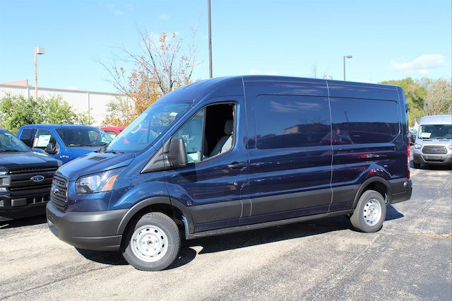 2019 Transit 150 Med Roof 4x2,  Weather Guard General Service Upfitted Cargo Van #190087 - photo 10