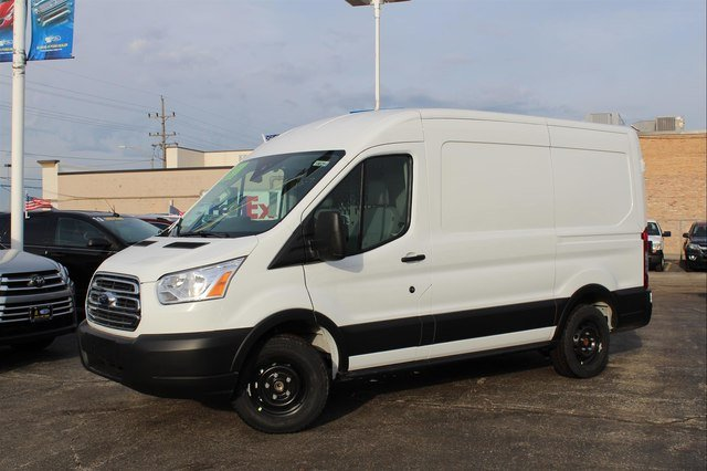 2019 Transit 150 Med Roof 4x2,  Masterack Upfitted Cargo Van #190284 - photo 3