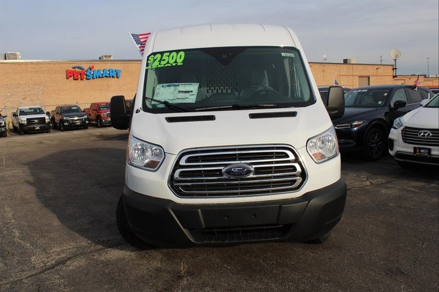2019 Transit 150 Med Roof 4x2,  Masterack Upfitted Cargo Van #190284 - photo 6