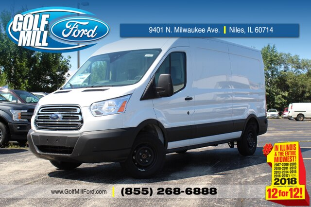 2019 Ford Transit 250 Med Roof 4x2, Sortimo Upfitted Cargo Van #191493 - photo 1