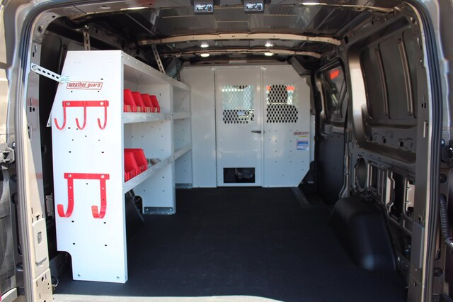 2020 Ford Transit 150 Low Roof RWD, Weather Guard Upfitted Cargo Van #200242 - photo 1