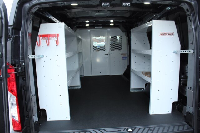 2020 Ford Transit 150 Low Roof RWD, Weather Guard Upfitted Cargo Van #200368 - photo 1