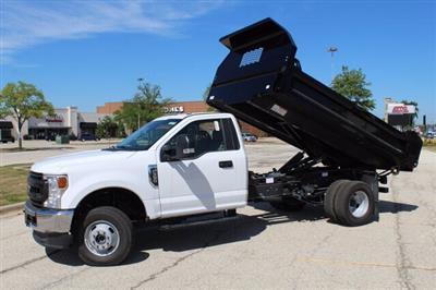 2020 Ford F-350 Regular Cab DRW 4x4, Knapheide Drop Side Dump Body #200999 - photo 4