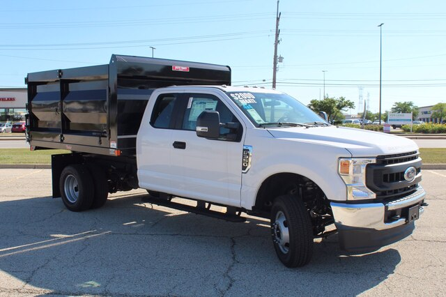 2020 Ford F-350 Super Cab DRW 4x4, Rugby Landscape Dump #201123 - photo 1
