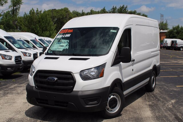 2020 Ford Transit 150 Med Roof RWD, Weather Guard General Service Upfitted Cargo Van #201156 - photo 3