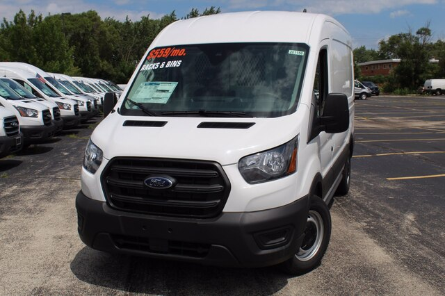 2020 Ford Transit 150 Med Roof RWD, Weather Guard General Service Upfitted Cargo Van #201156 - photo 7