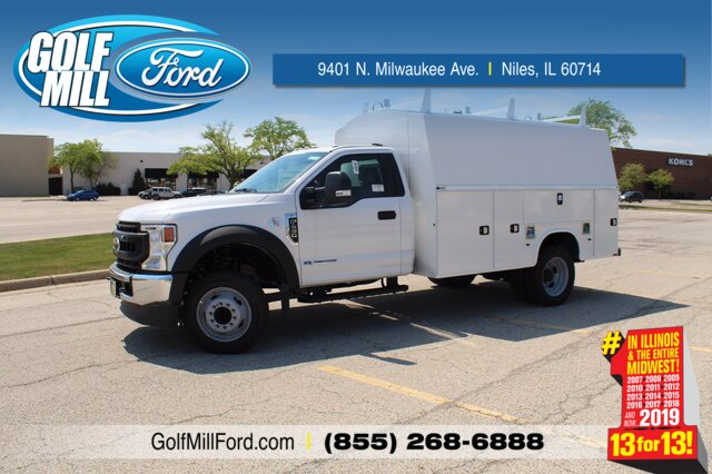 2020 Ford F-450 Regular Cab DRW RWD, Knapheide Service Body #201182 - photo 1