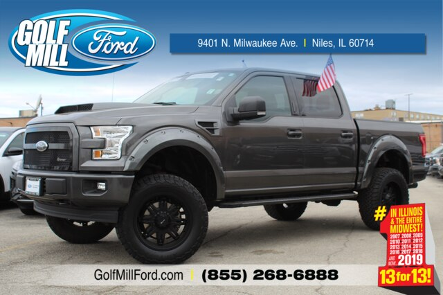 2017 Ford F-150 SuperCrew Cab 4x4, Pickup #201990A - photo 1