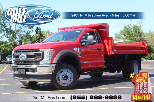 2021 Ford F-450 Regular Cab DRW 4x4, Cab Chassis #210073 - photo 1