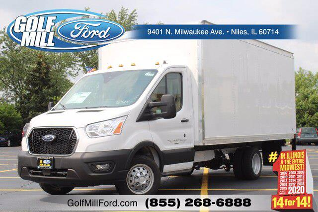 2021 Ford Transit 350 HD 4x2, Cutaway #210212 - photo 1