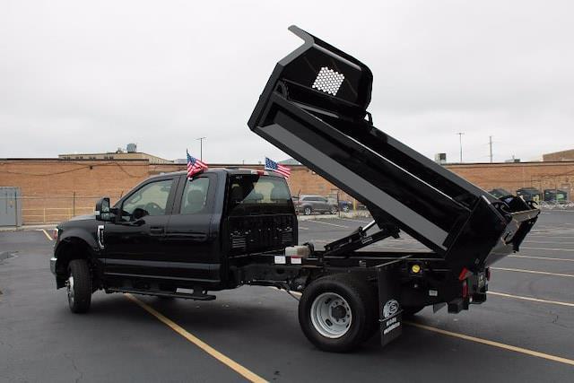 2021 Ford F-350 Super Cab DRW 4x4, Knapheide Drop Side Dump Body #210300 - photo 4