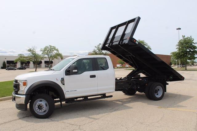2021 F-450 Super Cab DRW 4x4,  Knapheide Platform Body #210743 - photo 3