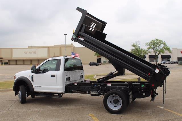 2021 F-550 Regular Cab DRW 4x2,  Air-Flo Pro-Class Dump Body #210932 - photo 5