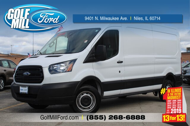2019 Ford Transit 250 Med Roof RWD, Empty Cargo Van #X10794 - photo 1